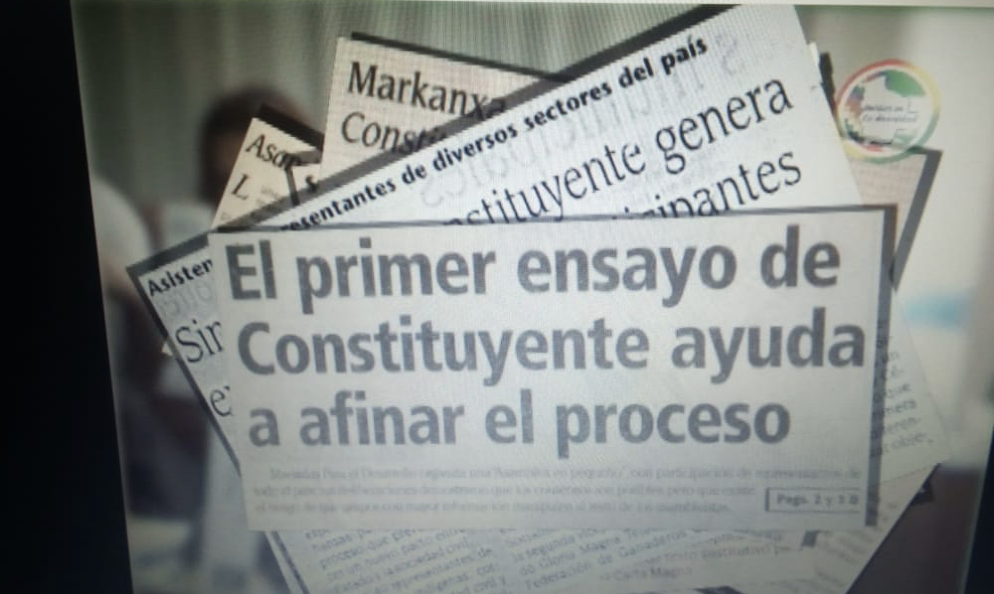 Constituent Assembly Simulation Bolivia 2004